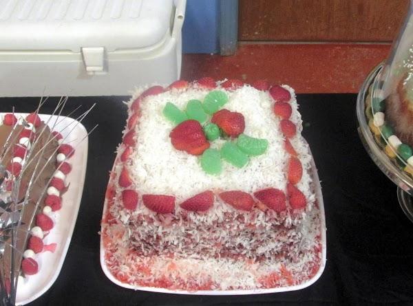 Fudgee Jelly Cake Recipe