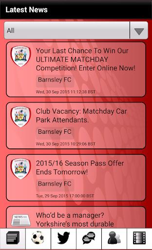 News for Barnsley FC