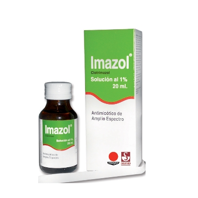 Clotrimazol Imazol Solución 1% x 20 mL Meyer Solución 1% x 20 mL