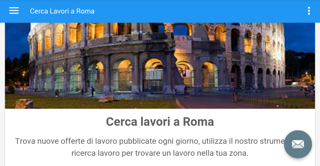 offerte di lavoro roma italia android apps on google play