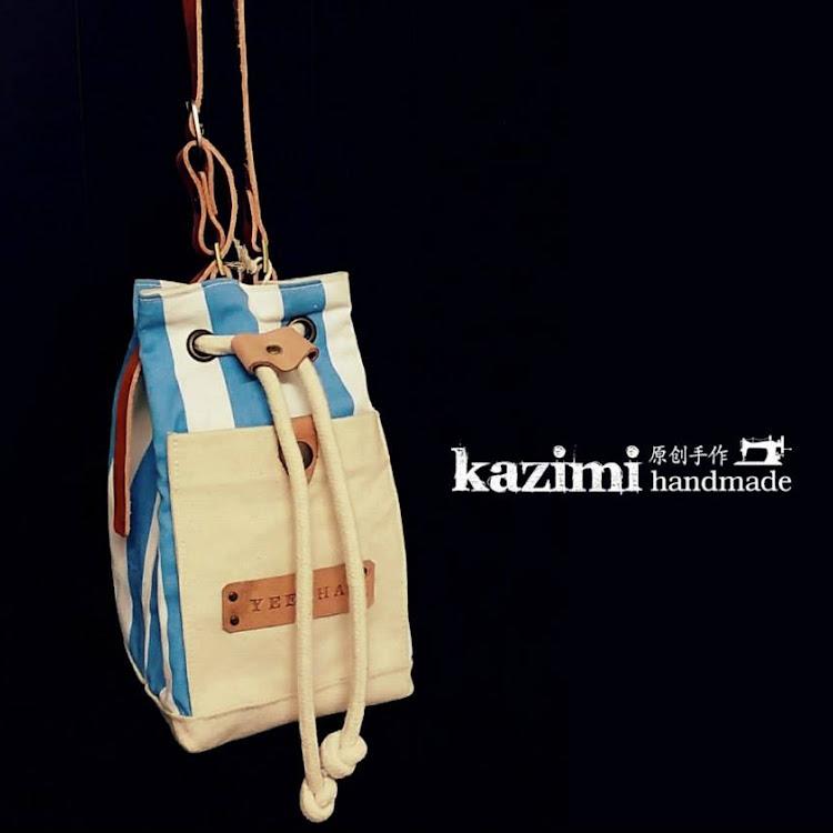 Handmade Sling Bag by Kazimi Zakka