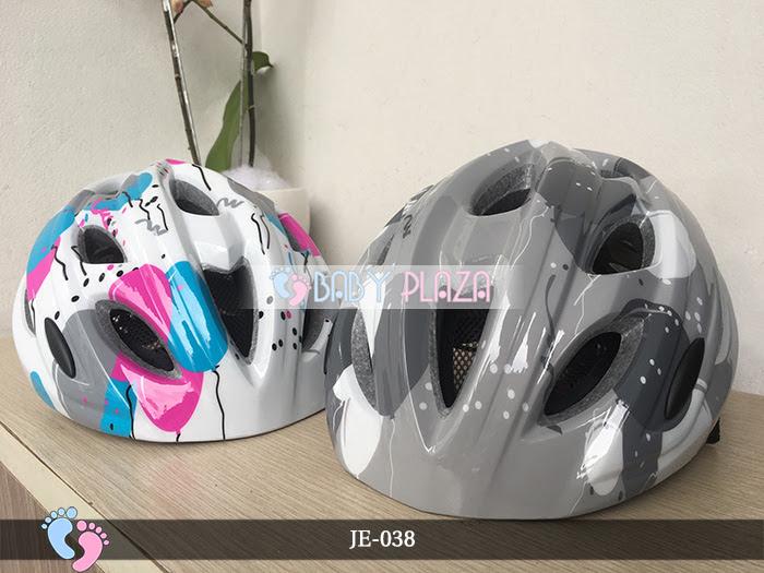 Mũ bảo hiểm cho bé cao cấp JE-038 2