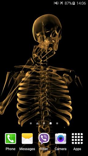 Skeleton Video Live Wallpaper