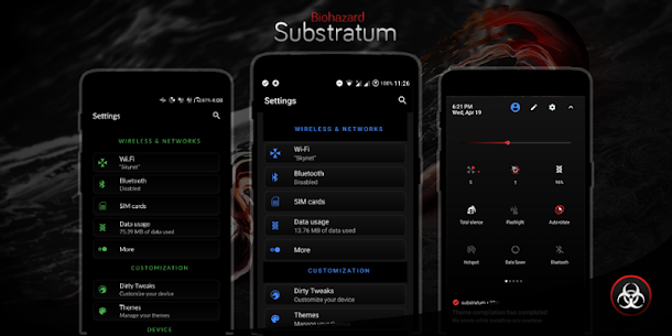 Biohazard Substratum Theme [PAID] [Free Purchase] 10