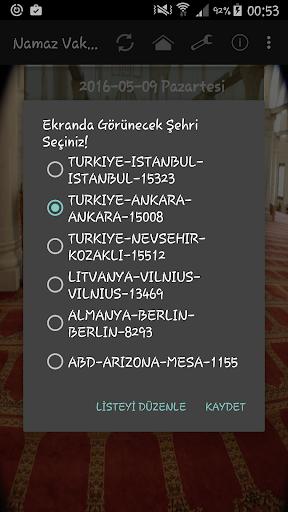 Namaz Vakitleri screenshot