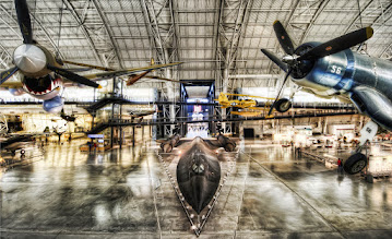 Photo: The SR-71 Blackbird Waits...  If you look closely, you can see Clint Eastwood in the cockpit...