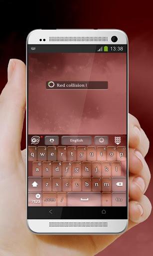 玩個人化App|레드 충돌 GO Keyboard免費|APP試玩