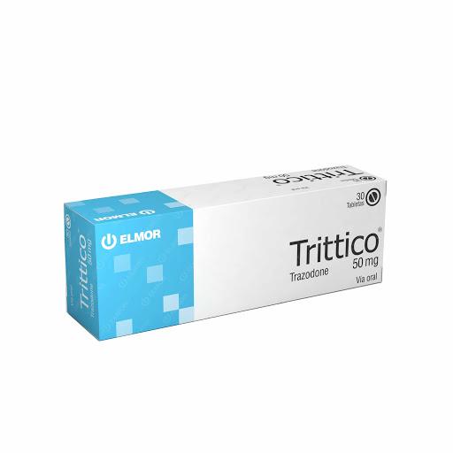 Trazodone Trittico 50 Mg X30 Tabletas elmor 50 mg x 30 tabletas