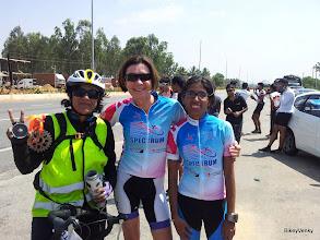 Photo: Spectrum girl power! Manjula, Vicki and Shilpa.. :)