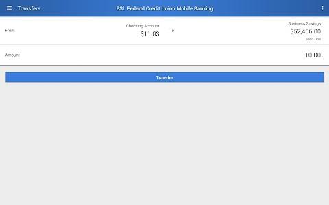 ESL Mobile Banking screenshot 7