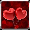 Cute Hearts Live Wallpaper icon