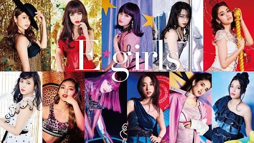 Novo E-girls, com 11 integrantes, que passou a ser grafado como