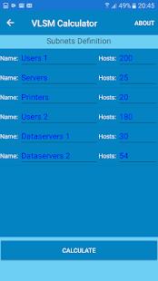 IPv4 Network Tool - náhled