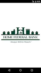 Home Federal Bank Mobile screenshot 0