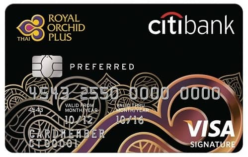 citibank royal orchid plus preferred