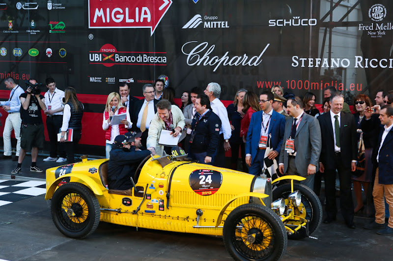 Photo: The prestigious historical car competition took place in Italy from May 17th to May 20th. The race covers a 1'000-mile (1'600 km) stretch from Brescia to Rome and back. http://bit.ly/Jyyuz1