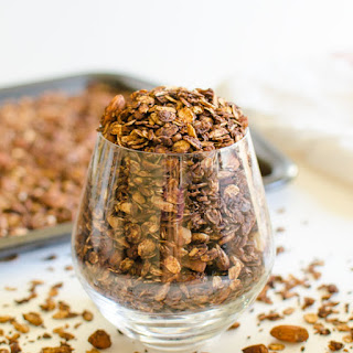 Chocolate Covered Homemade Granola