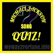 Michael Jackson Songs Quiz