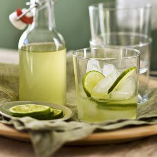 Lime and Lemongrass Cordial.