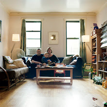 Photo: title: Asia, Dan & Roman Bukszpan, Brooklyn, New York date: 2011 relationship: friends, art, met at Hampshire College years known: 20-25