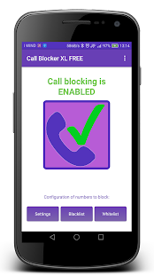 Call Blocker XL- screenshot thumbnail