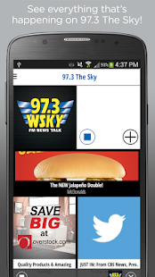 WSKY 97.3 FM NEWS TALK- screenshot thumbnail