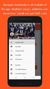 appwebSMS - Free Bulk SMS Service Provider - náhled