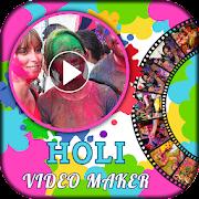 Holi HD Video Maker 2019