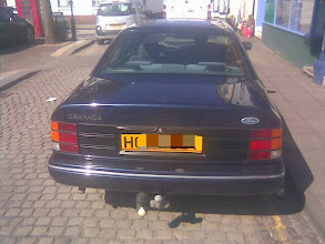 Photo: A MkIII Granada over 20 yrs old now. This one with the executive trim and probably an engine closer to 2.9 than the bog-standard 2.0L.