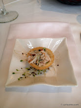 Photo: Amuse Bouche: Crab Salad Tarte