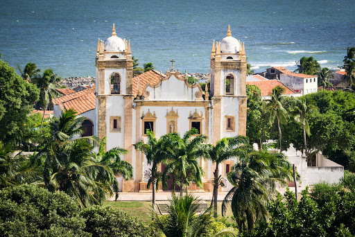 Stroll the scenic streets of Olinda, Brazil, on your next Ponant cruise.