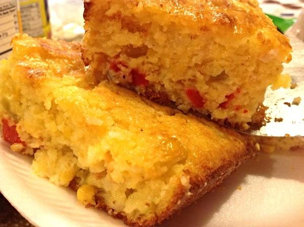 Green Chili Corn Bread Recipe