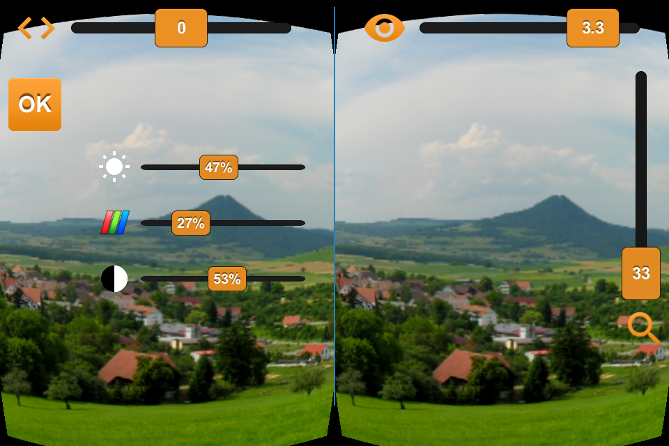VR Viewer for Cardboard Camera- screenshot