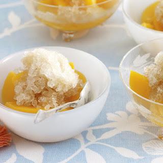 Peach Iced Tea Granita