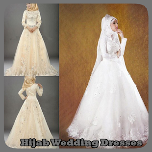 Hijab Wedding Dresses - náhled