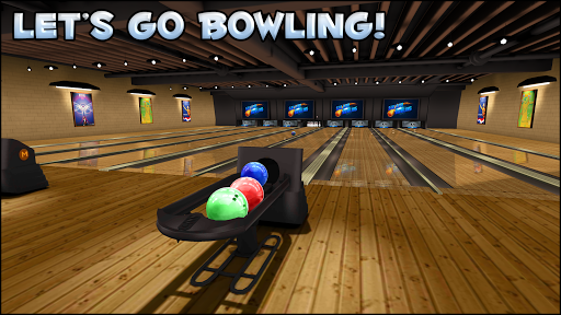 Galaxy Bowling 3D Free Screenshot