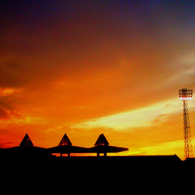 The Art of Sky by Nova Aryanto - Instagram & Mobile Android ( sky, android, sunset, indonesia )