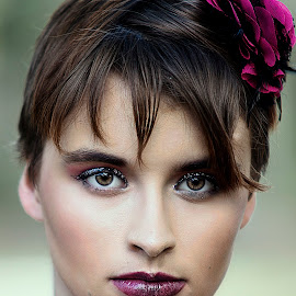 by Sylvester Fourroux - People Portraits of Women