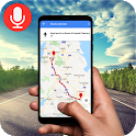 Voice GPS Driving Directions: Traffic status icon