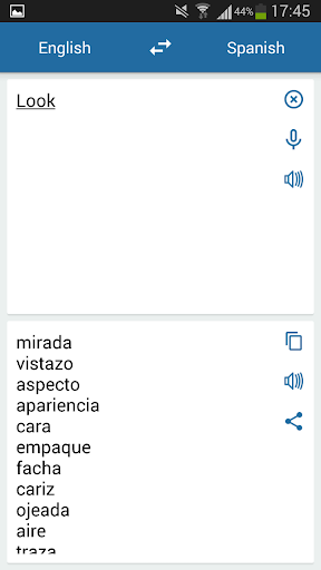 Spanish English Translator 2.5.2 screenshots 1