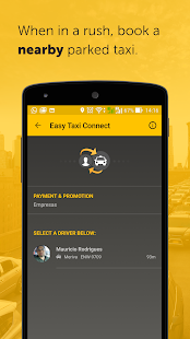 Screenshots of Easy - taxi, car, ridesharing for iPhone