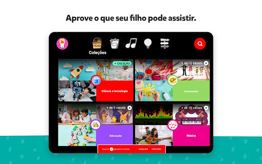 Foto do YouTube Kids