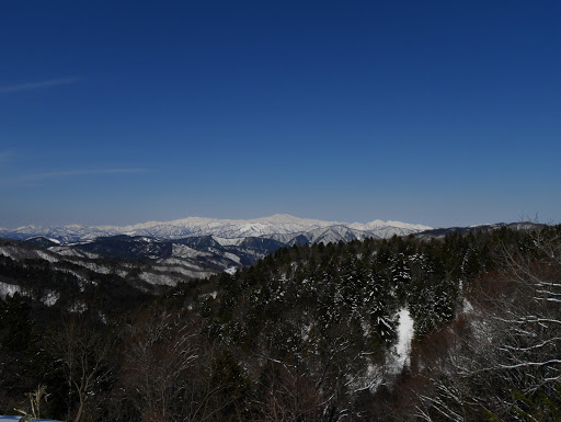 白山の展望