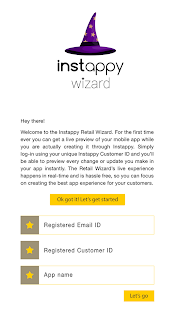 Instappy Wizard- screenshot thumbnail