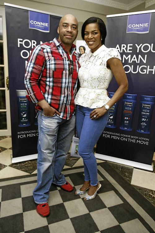 Shona and Connie Ferguson.