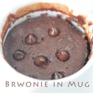 Perfect Brownie in Mug – 5-Ingredient Microwave