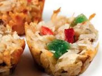 Magic Fruitcake Cookies