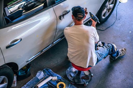 debosselage automobile sans peinture sur cergy pontoise