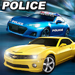 Real Police Car Chase Parking Icon