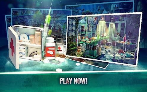 Haunted Hospital Asylum Escape Hidden Objects Game - náhled